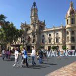 La plaza del Ayuntamiento de Valencia será peatonalizada permanentemente