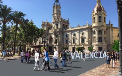 Valencia homenajeará a las víctimas del COVID-19 al acabar las obras de la plaza del Ayuntamiento