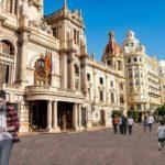 Así será la plaza del Ayuntamiento de Valencia al acabar las Fallas de 2020