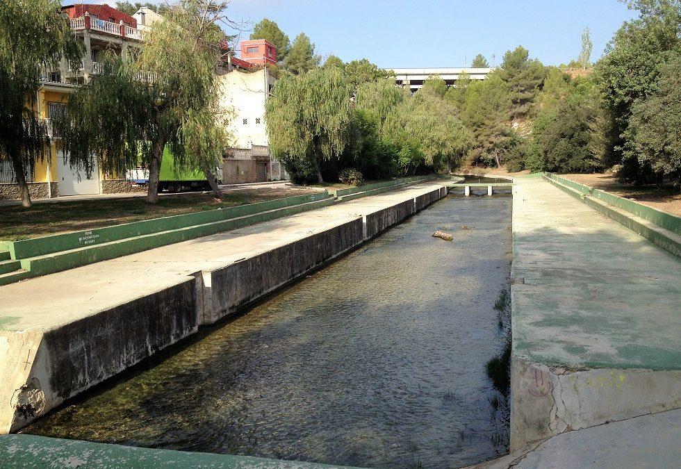 El paraje natural del Riu Nou en l'Alcúdia de Crespins, nueva zona de baño después de 14 años