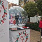 Una bola de nieve gigante recorrerá Valencia para apoyar el comercio de la ciudad