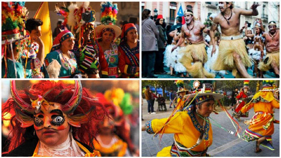 Más de 2.000 personas y 60 grupos llenan hoy sábado las calles de Ruzafa con un gran carnaval