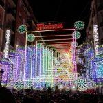 Encendido de luces Fallas 2018 – Iluminación calles importantes Fallas 2018