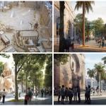 Así será el futuro entorno peatonal de la plaza de Brujas, el Mercado Central y La Lonja de Valencia