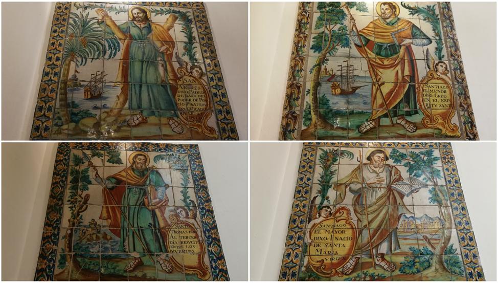 Los paneles cerámicos devocionales del Apostolado del Credo del Ayuntamiento de Valencia