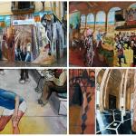 Así es el nuevo mural de arte urbano con motivos valencianos del CIMA