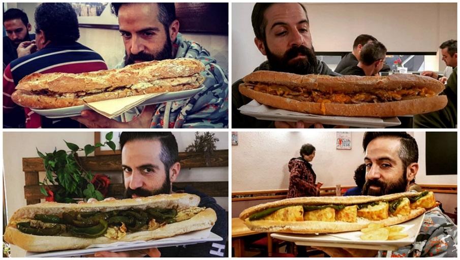 Los bares y restaurantes con los bocadillos más gigantes de Valencia
