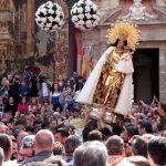 La fiesta de la Virgen de los Desamparados se aplaza