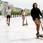Llega a Valencia la primera red de alquiler de patinetes eléctricos