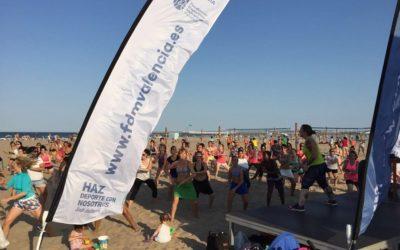 Actividades deportivas GRATUITAS en las playas de Valencia 2018
