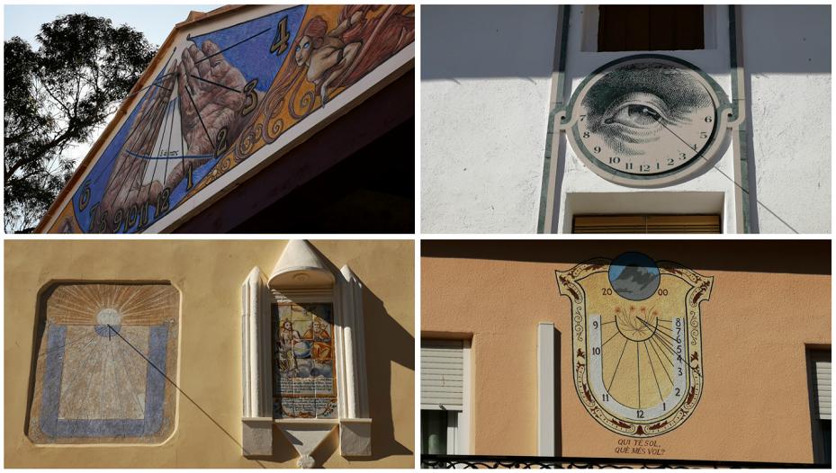 Otos, el pueblo de los relojes de sol