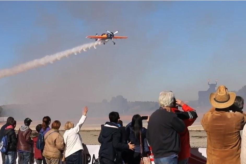 Requena acoge los días 8, 9 y 10 de junio el Campeonato de España de Vuelo Acrobático 2018