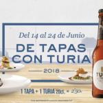 """Regresa """"De tapas con Turia"""", la ruta urbana con más sabor de Valencia"""