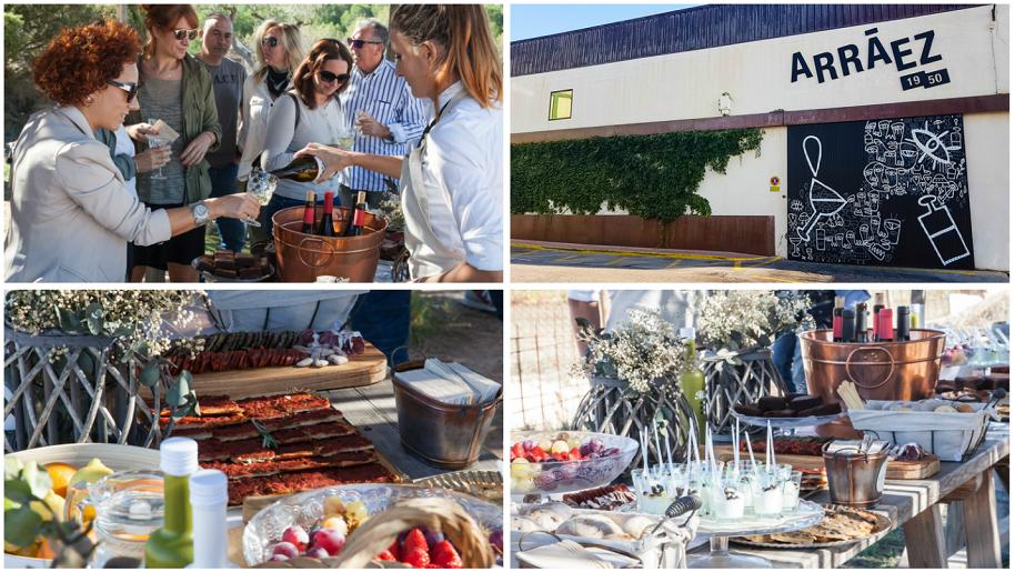 Canalla Gastro Fest, el festival gastronómico más inusual en bodegas Arráez