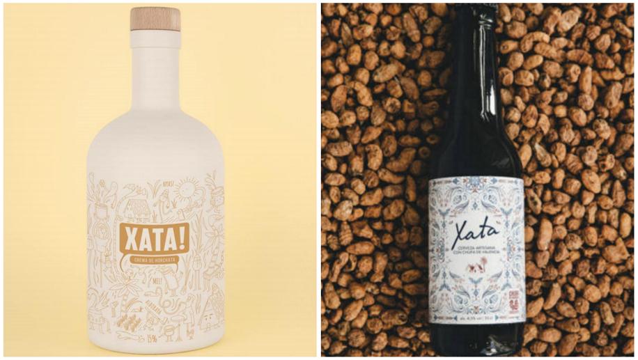 Fartons Polo lanza al mercado un licor de crema de horchata y una cerveza con chufa DO Valencia