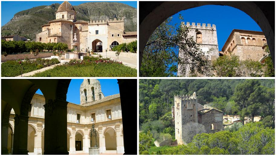La ruta de los monasterios de la Comunidad Valenciana