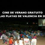 Cine de verano GRATUITO en las playas de Valencia en 2018