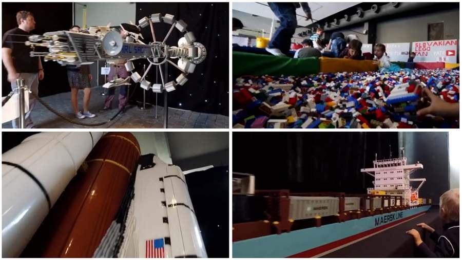 exposición hecha con piezas de LEGO® llega a la Ciudad de las Artes y de las Ciencias
