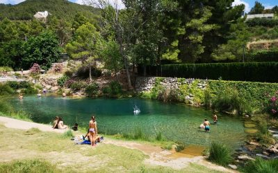 Azud de Tuéjar, área recreativa del nacimiento del río Tuéjar