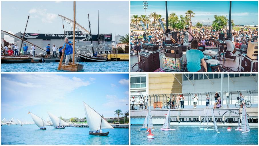 La Marina de Valencia celebra su aniversario con actividades náuticas y culturales GRATUITAS
