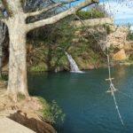 El Gorgo Catalán de Anna, un pequeño lago alimentado por las aguas del nacimiento de la Fuente Negra