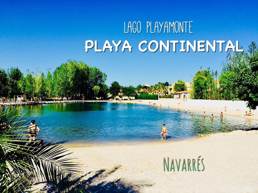 Lago Playamonte, Playa Continental de Navarrés