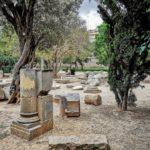 El grave abandono patrimonial de los restos arqueológicos de época romana del Jardín del Turia