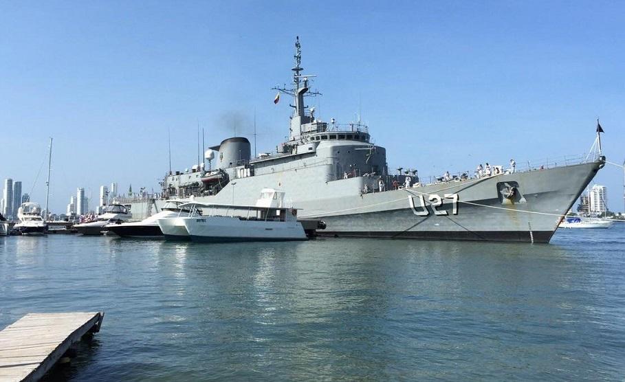 El Buque Escuela de la Marina de Brasil hace escala en Valencia