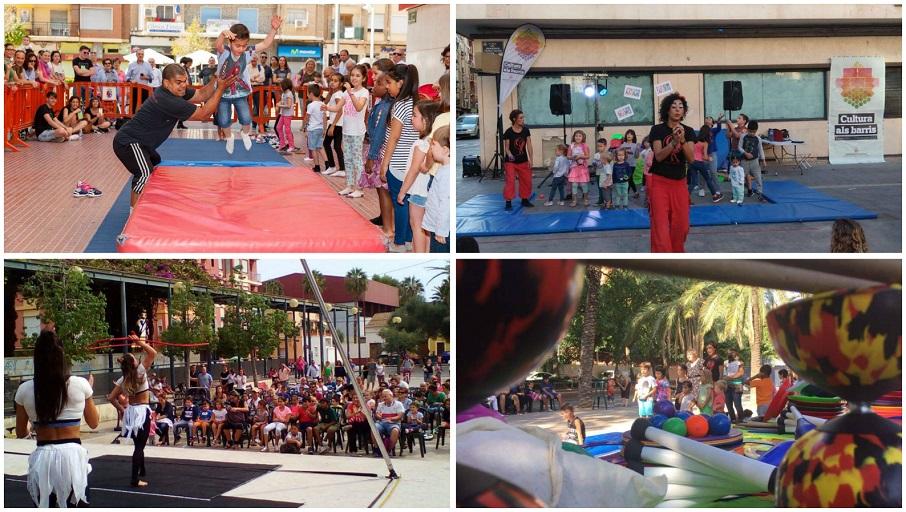 Cultura als barris 2018: cerca de 200 espectáculos GRATUITOS en 24 barrios de Valencia