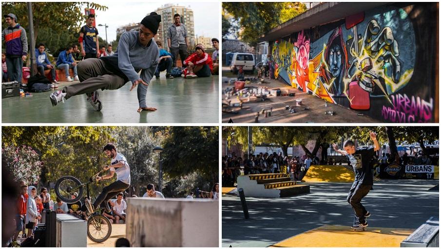 Urbans Festival 2018, el festival internacional de deportes urbanos de la ciudad de Valencia