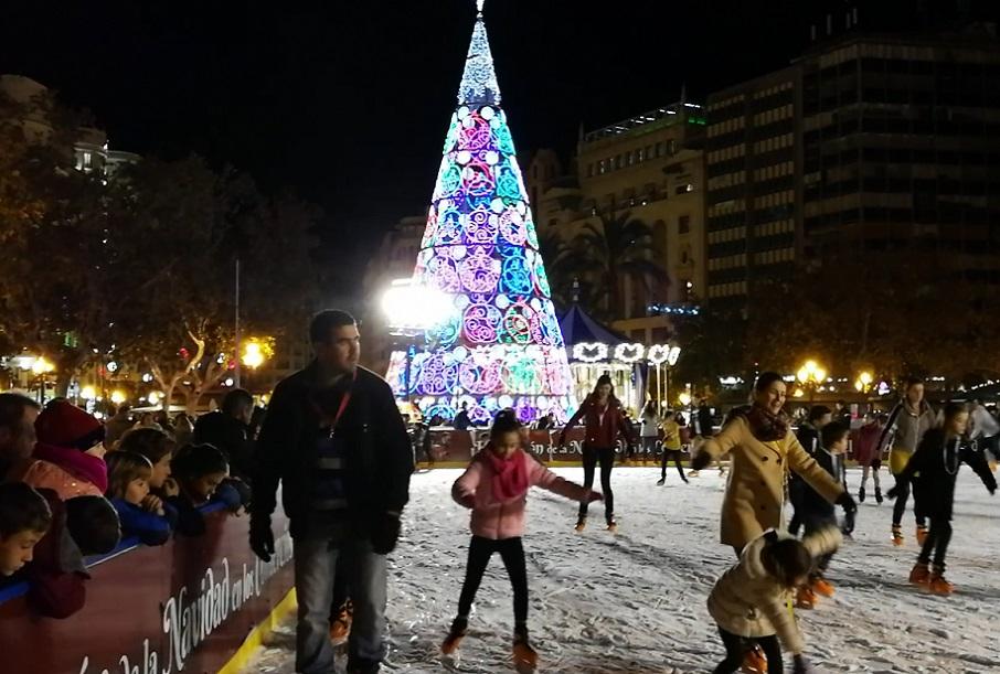 El encendido de luces de Navidad 2019 en Valencia contará con un coro navideño