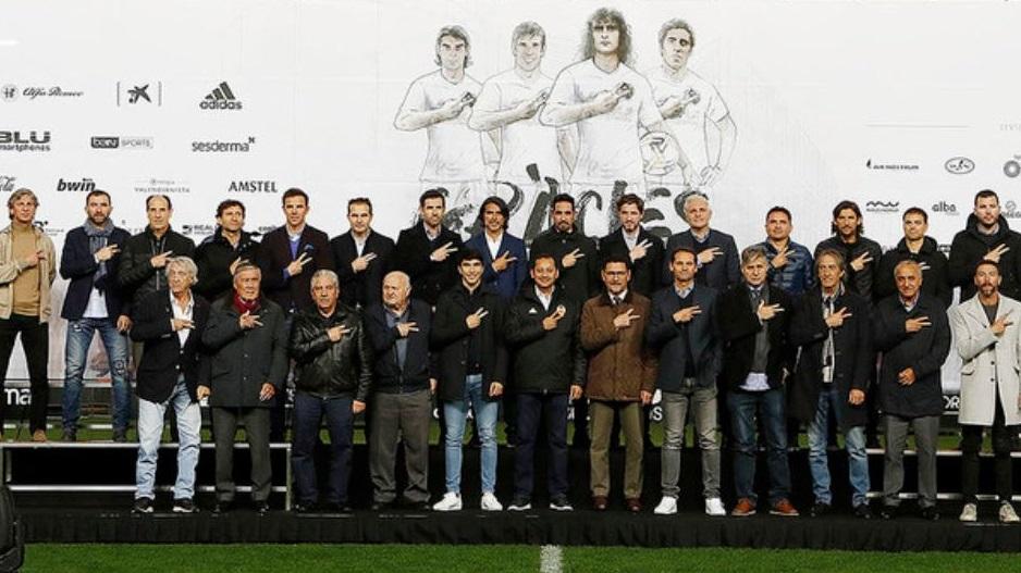 Las leyendas del Valencia C.F. y de la Selección Española jugarán un gran partido para el centenario