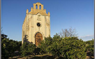 La abandonada Ermita de Porrinyes, una ermita entre naranjos en Algemesí