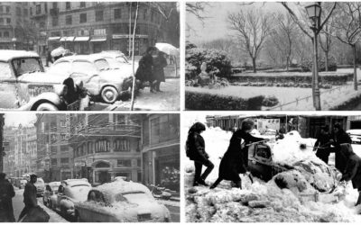 La gran nevada de 1960 en Valencia capital