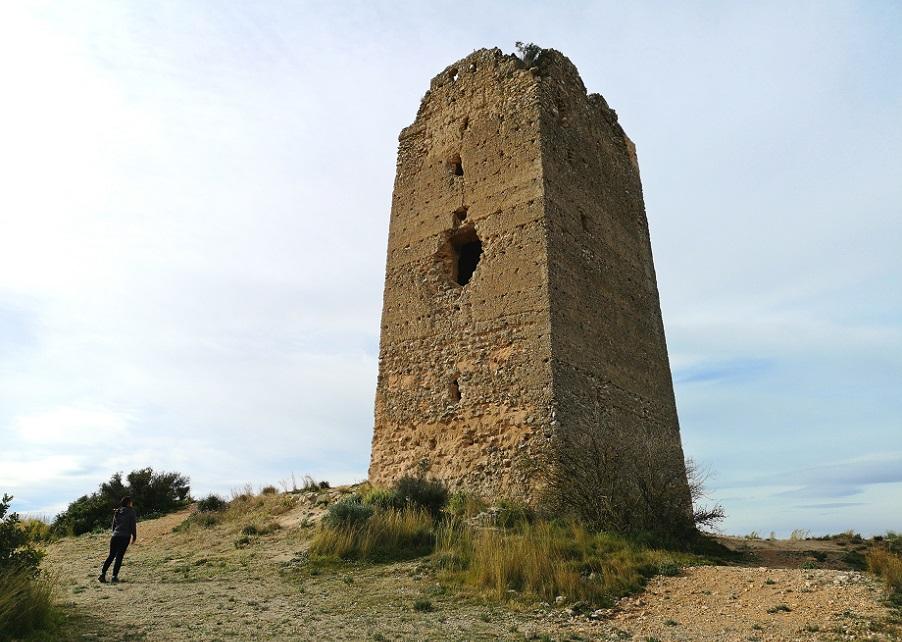 La Torre del Castillo de Montroy, el mirador de La Vall dels Alcalans