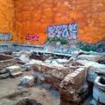 Encuentran parte del cementerio islámico de Bab al-Hanax en la construcción de un edificio en Valencia
