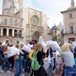 Regresa la Guerra de Almohadas más grande de España a la ciudad de Valencia