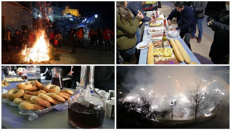 Una noche de tradiciones en Cofrentes: la Noche de los Sagatos y el Zurracapote