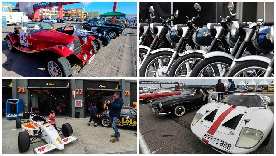 Más de mil clásicos llenarán el Circuit Ricardo Tormo con el Racing Legends 2019
