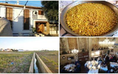 Lluna de Valencia, una antigua alquería convertida en un restaurante en plena huerta valenciana