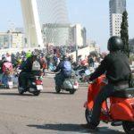 Valencia acoge este domingo la matinal de vespas y lambrettas más numerosa de España