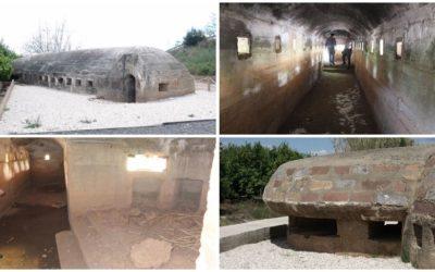 Los búnkeres de Nules, una ruta con cuatro fortificaciones defensivas de la Guerra Civil española
