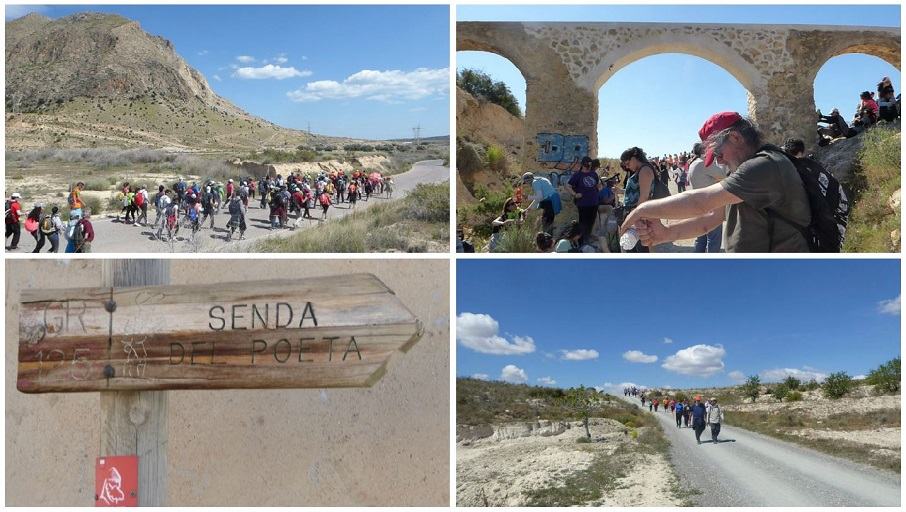 La senda del poeta o el camino hernandiano, la ruta senderista en homenaje a Miguel Hernández