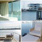 Una suite flotante se instala en La Marina de Valencia