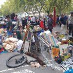 Valencia reabre el mercado del Rastro en la nueva plaza ajardinada de Tarongers