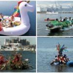 La primera regata de Barcos Locos llenará La Marina de Valencia de creatividad y diversión