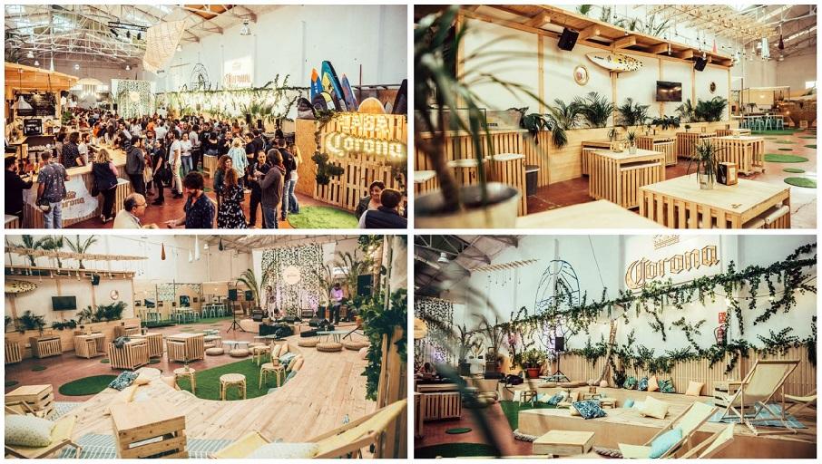 Vuelve Casa Corona, ocho semanas de música, gastronomía y talleres junto a la playa de la Patacona