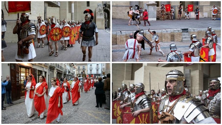 Sagunto regresa a la época romana con el gran Festival de Recreaciones Históricas 'Saguntum Invicta'