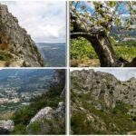 La ruta de la Penya Foradà o Foradada, la maravilla natural de La Vall de la Gallinera