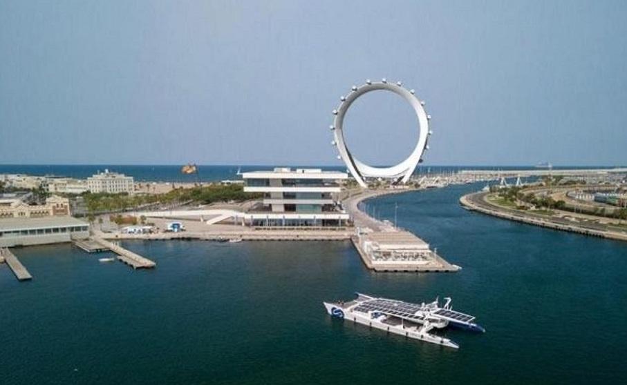 Así sería Circular View, la gran noria gigante permanente que podría tener Valencia